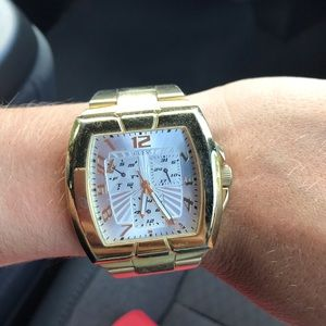 Jewelry - Gold Guess Watch